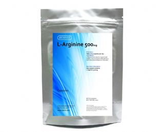L-Arginine 500mg Body Building Amino Acid SYNVIT®